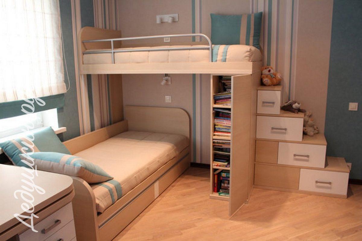 Детская под заказ для подростка. Безопасная и современная мебель на заказ от производителя.