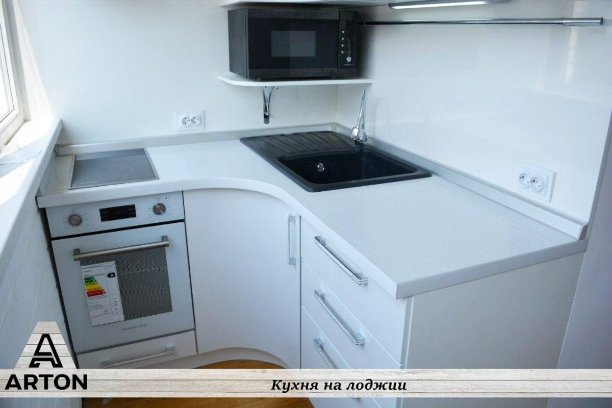 Кухня на лоджии под заказ