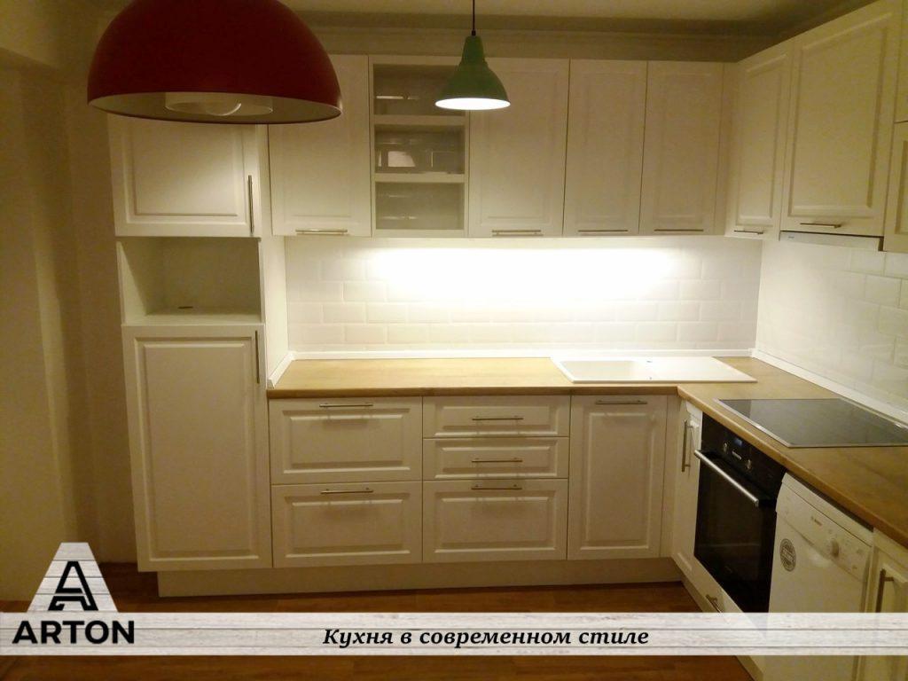 Угловая кухня под заказ недорого.