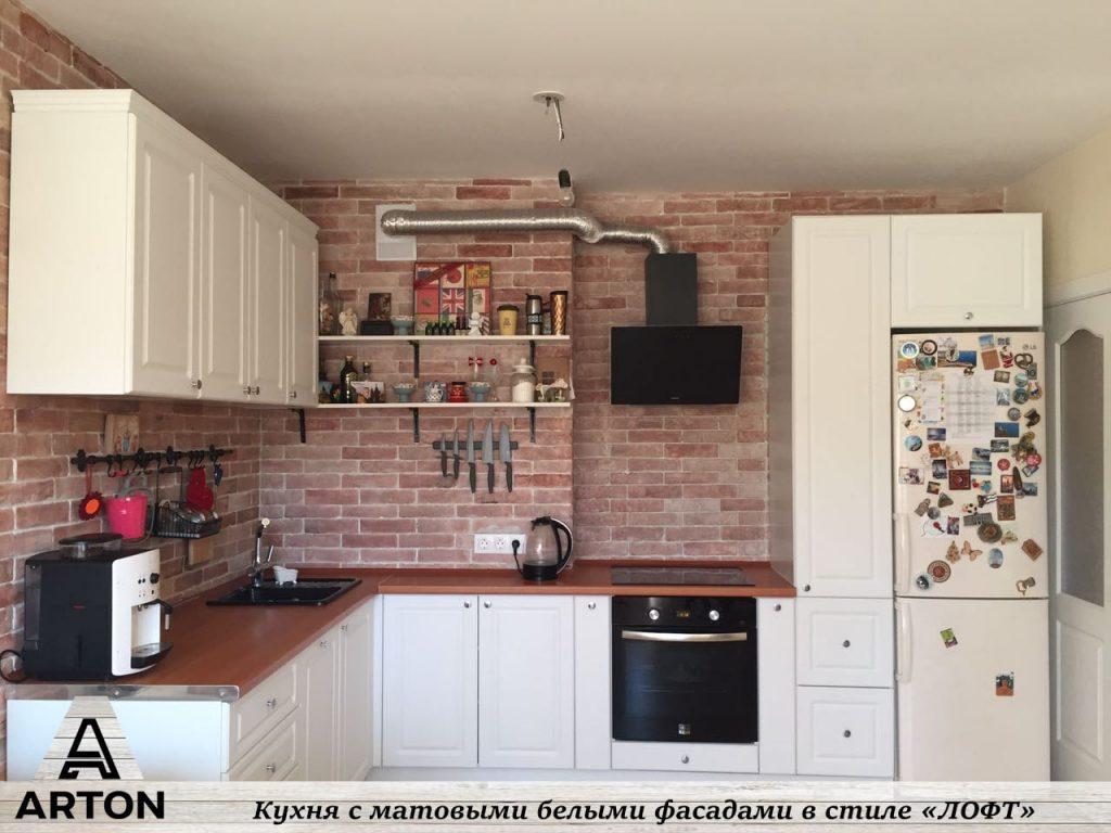 Заказать кухню недорого по индивидуальному проекту.