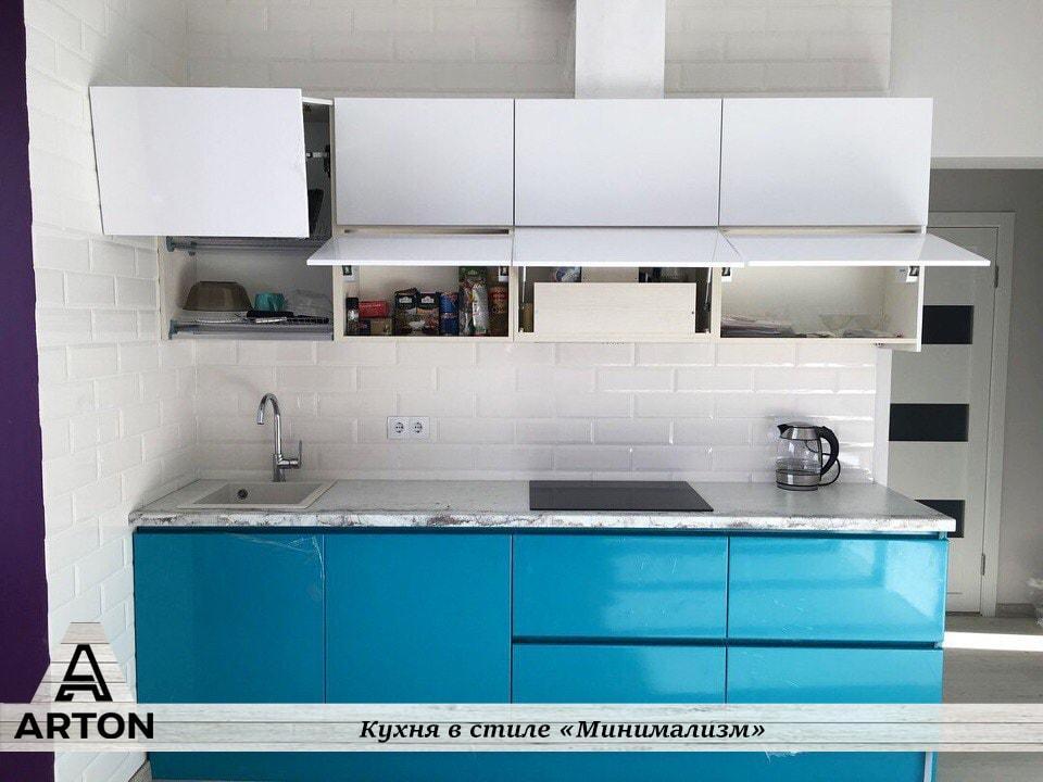Кухня под заказ RAL 5015
