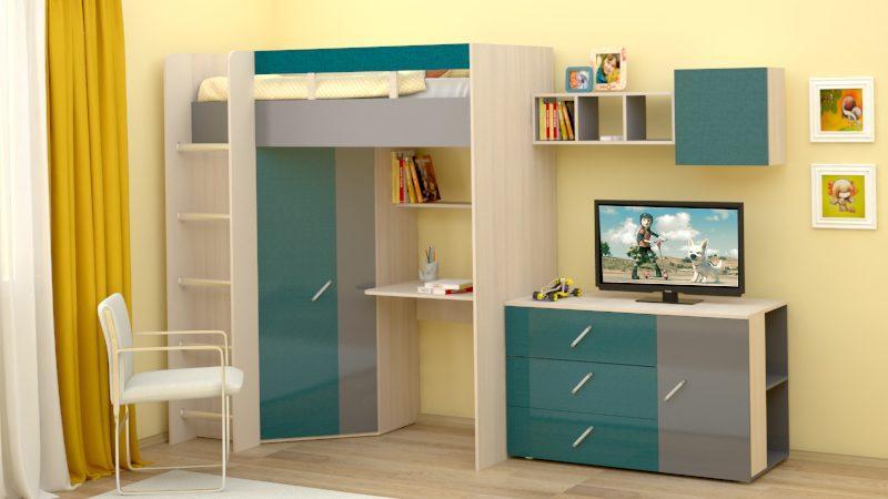 Детская мебель на заказ, детские на заказ недорого от производителя.