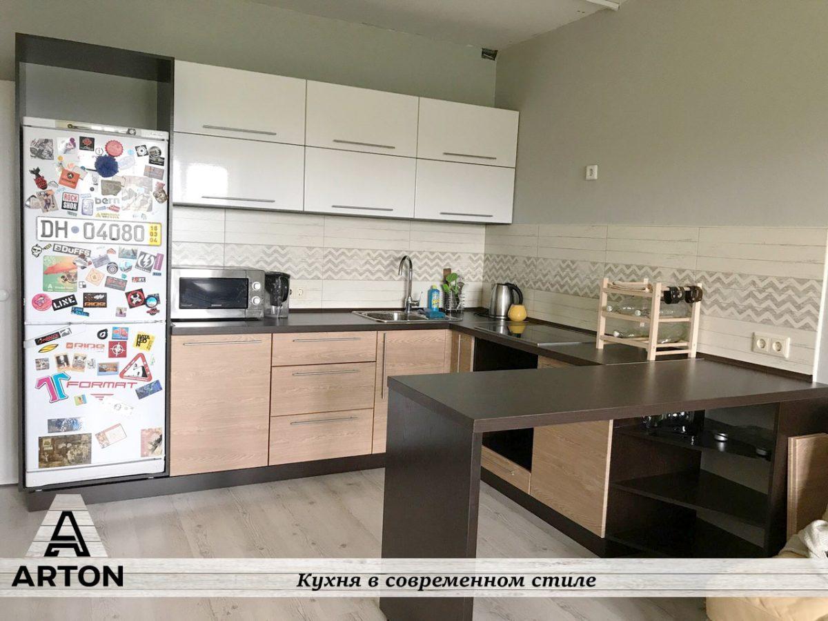 Кухня под заказ в Современном стиле